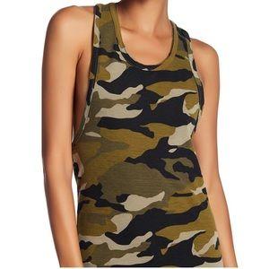 C&C California Camouflage Twist Back Tank Top NWT